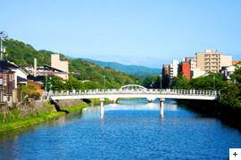 Asano River・Nakano-Hashi-Bridge